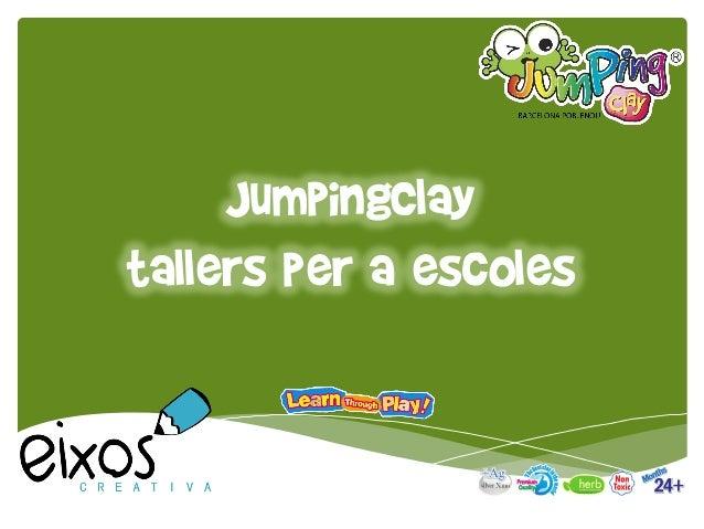 JumpingClay tallers per a escoles