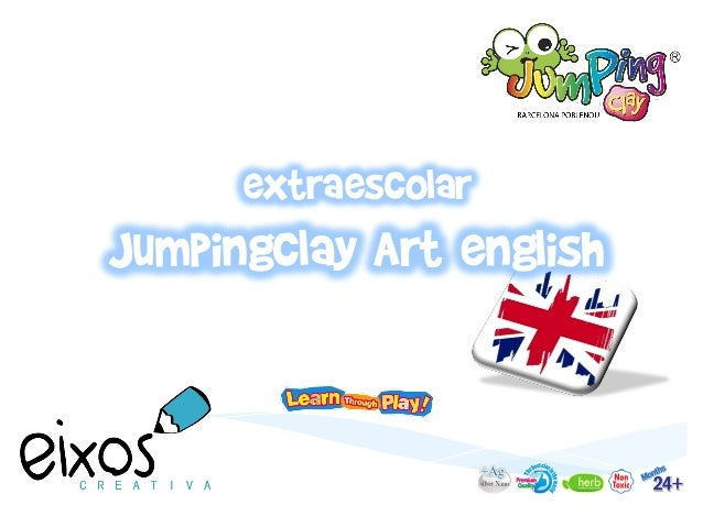 extraescolar Jumpingclay Art english