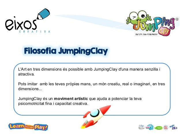 Extraescolar Jumpingclay Art English Slide 3
