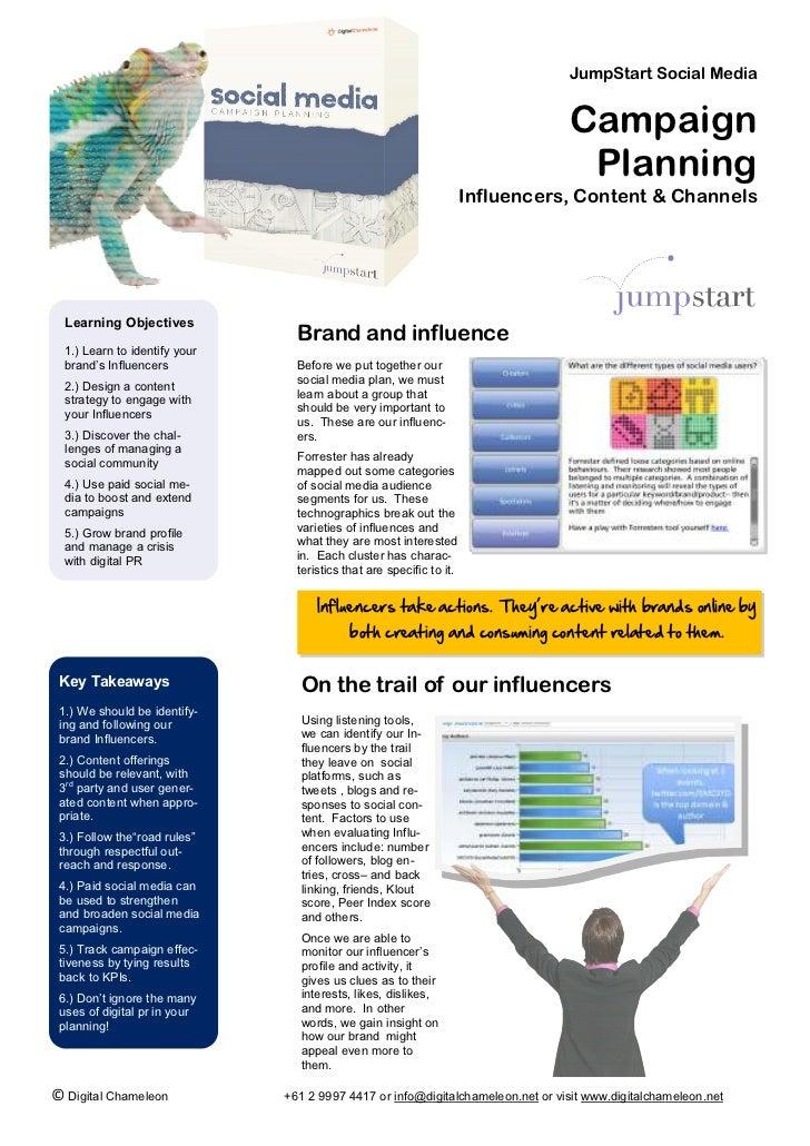 JumpStart Social Media                                                                                 Campaign           ...
