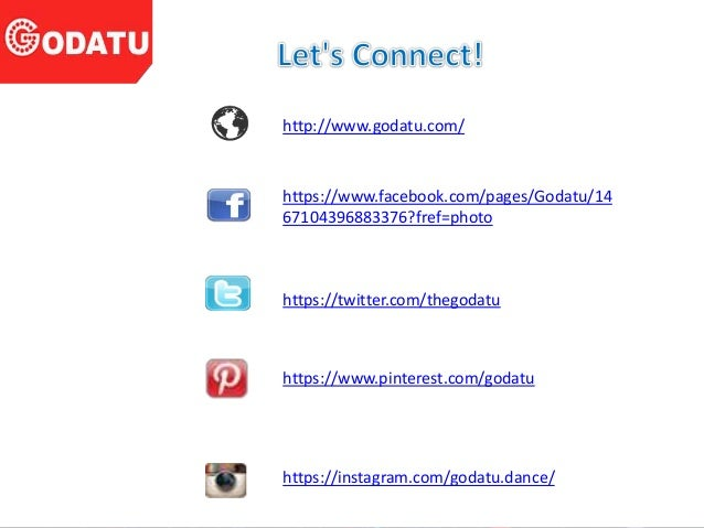 http://www.godatu.com/ https://www.facebook.com/pages/Godatu/14 67104396883376?fref=photo https://twitter.com/thegodatu ht...