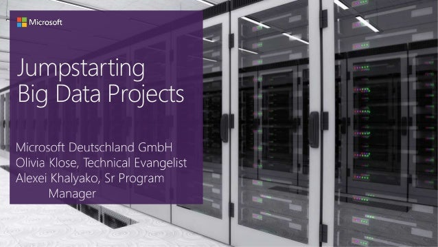 Jumpstarting Big Data Projects