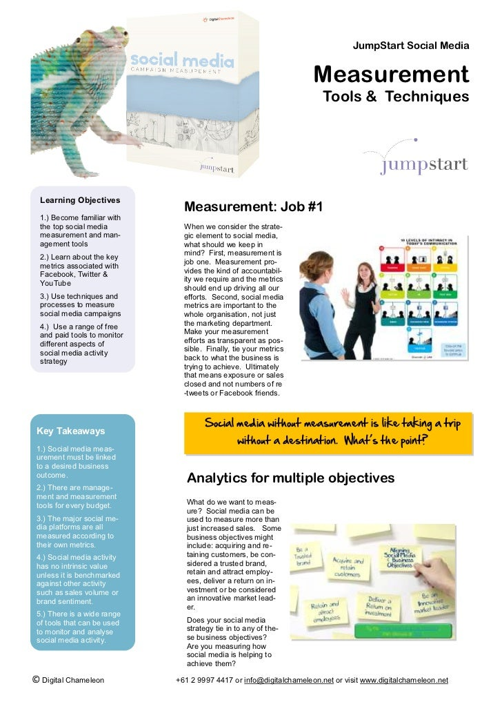 JumpStart Social Media                                                                     Measurement                    ...