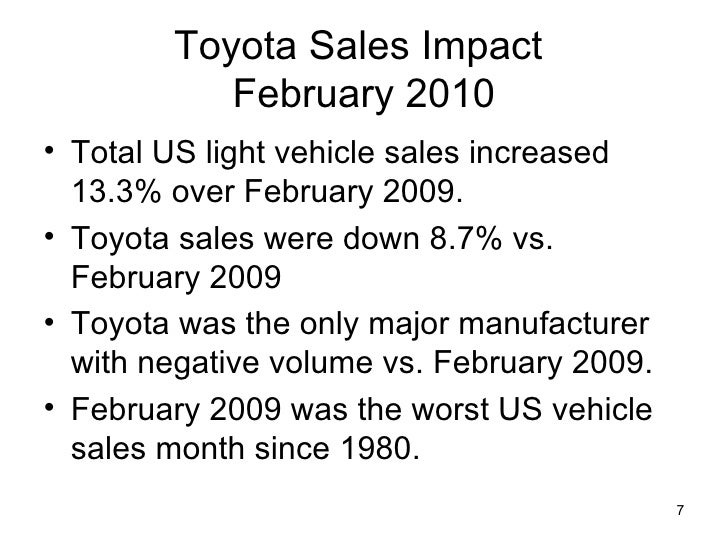 an analysis of toyota Analyze toyota motor corp ltd ord (tm) using the investment criteria of some of  the greatest guru investors of our time.