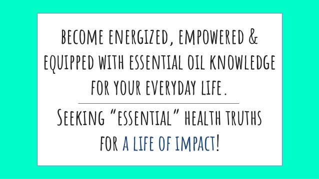 Jump Start Your Health & Energy Using Young Living Essential