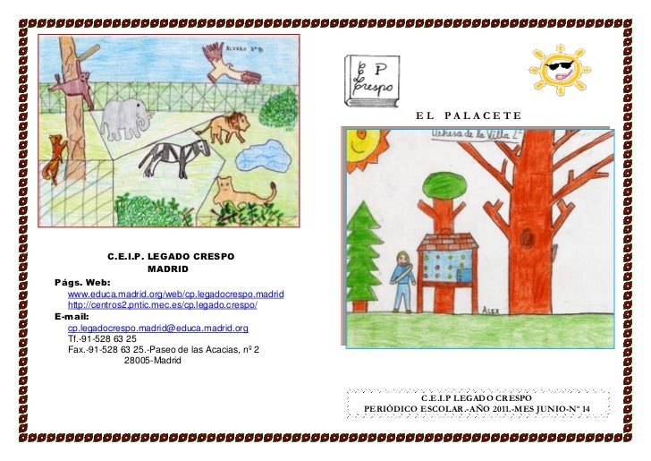 EL PALACETE             C.E.I.P. LEGADO CRESPO                       MADRIDPágs. Web:  www.educa.madrid.org/web/cp.legadoc...