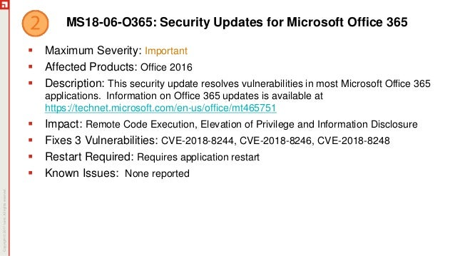 June Patch Tuesday 2018