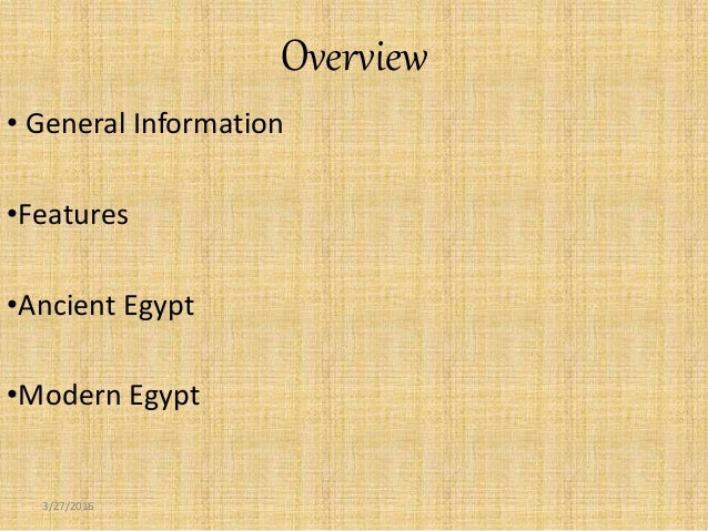 a general overview of the country of egypt Find all of general motors global sites on gmcom.