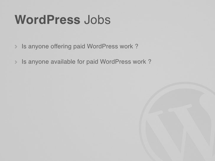 WordPress Melbourne June Meetup slideshare - 웹