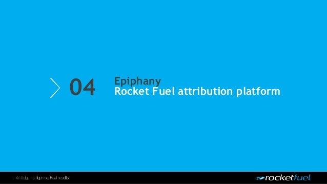 04 Epiphany Rocket Fuel attribution platform