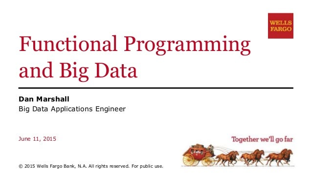 Functional Programming and Big Data