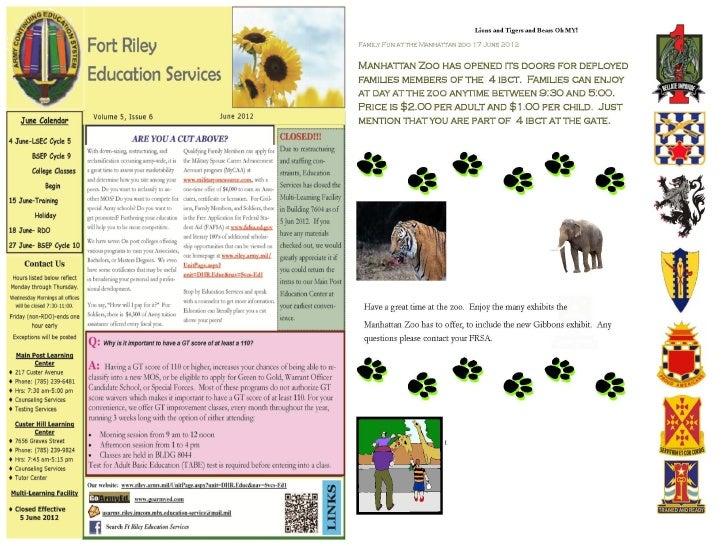 June 15 2012  1ID WEEKLY NEWS UPDATE