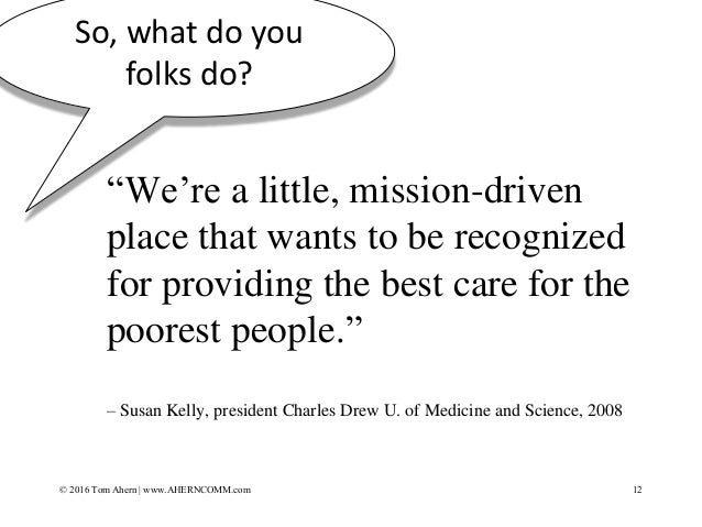 """""""We're a little, mission-driven place that wants to be recognized for providing the best care for the poorest people."""" – S..."""