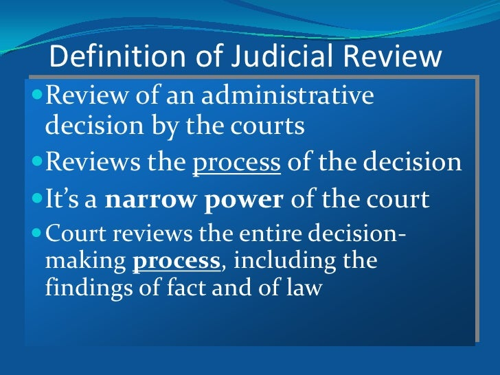 Judicial Review: Crash Course Government and Politics #21 ...