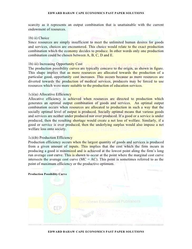 economic extended essay questions