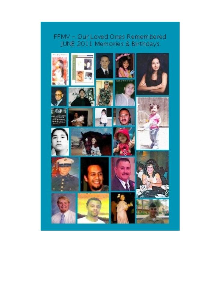FAMILIES & FRIENDS OF                                 Author unknown  MURDER VICTIMS, Inc.        (FFMV)          Newslett...