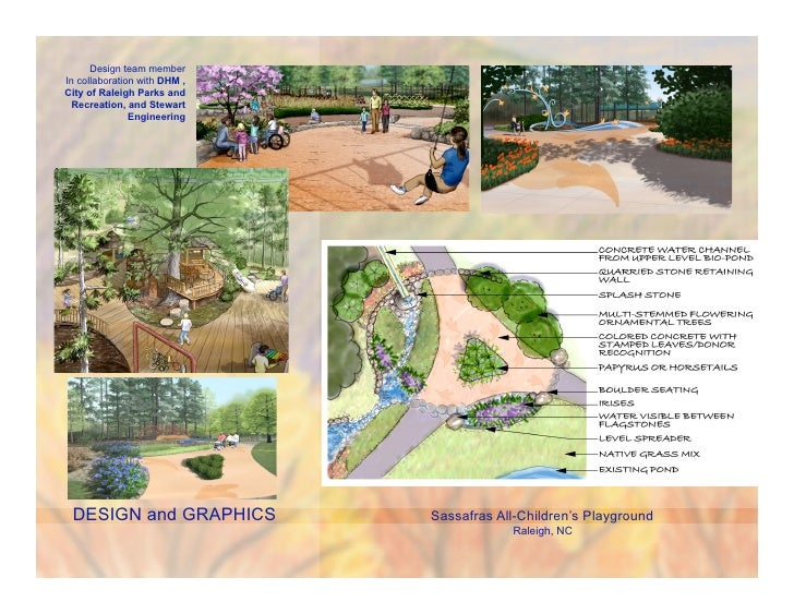 Design team memberIn collaboration with DHM ,City of Raleigh Parks and  Recreation, and Stewart               Engineering ...