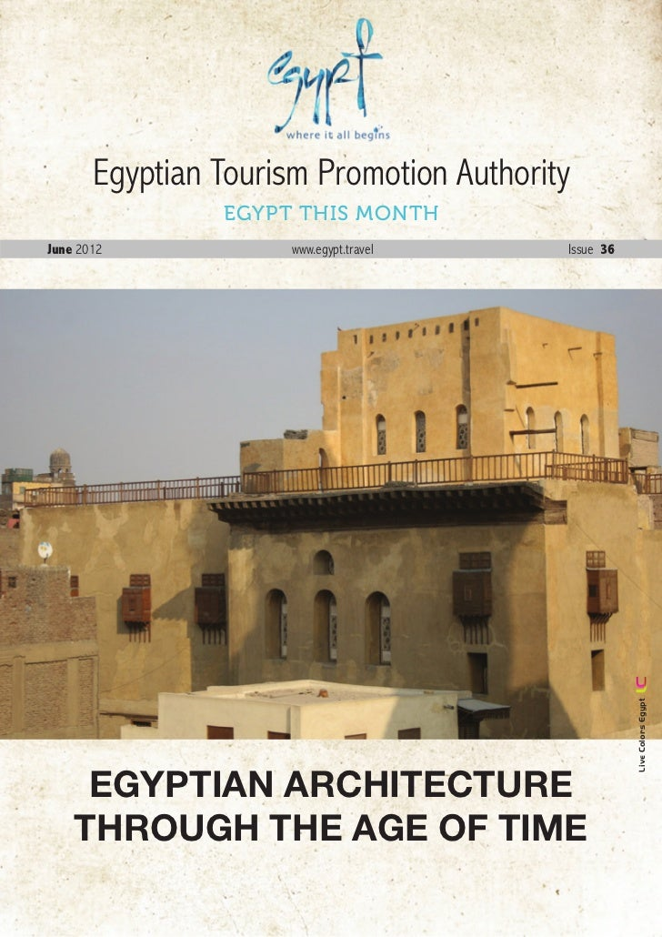 Egyptian Tourism Promotion Authority                EGYPT THIS MONTHJune 2012             www.egypt.travel     Issue 36   ...