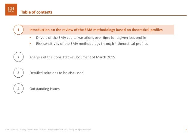 CH&CO_SMA review_Op Risk comments and suggestions Slide 2