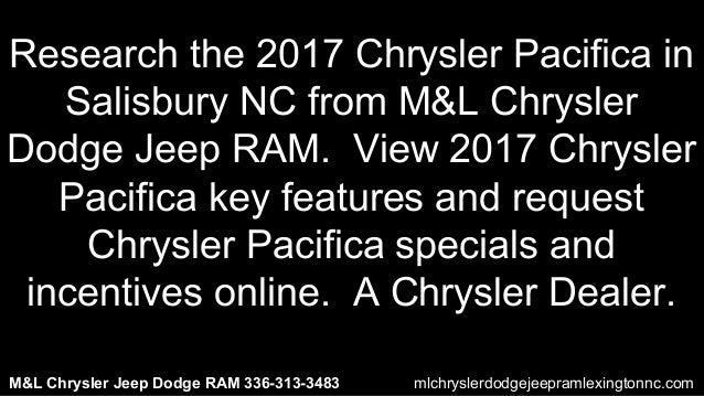 2017 Chrysler Pacifica Near Salisbury Nc
