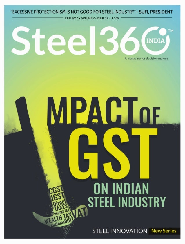 Impact of GST on Indian Steel Industry