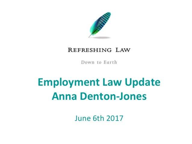 Anna Denton Jones Hr Insights June 2017