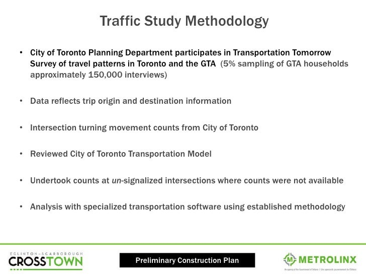 Online Consultation: Preliminary Construction and Traffic