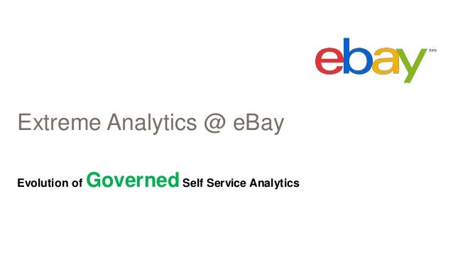Extreme Analytics @ eBay Evolution of GovernedSelf Service Analytics