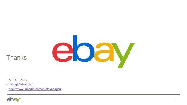 Extreme Analytics @ eBay