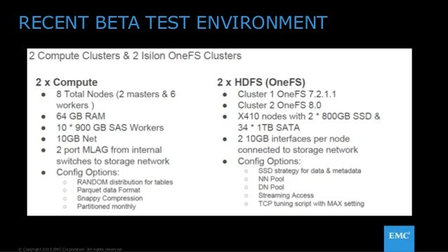 Improving Hadoop Resiliency and Operational Efficiency with EMC Isilon