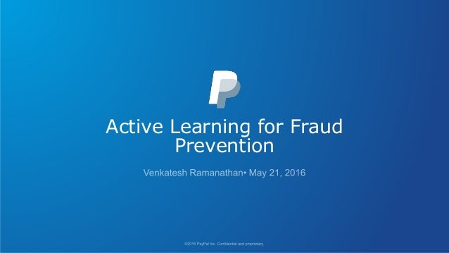 Active Learning for Fraud Prevention