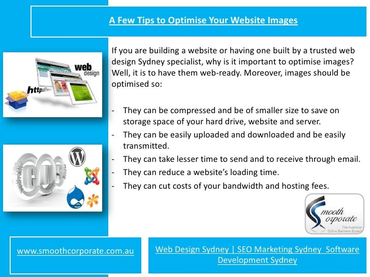 A Few Tips to Optimise Your Website Images                     If you are building a website or having one built by a trus...