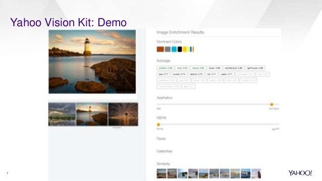 Yahoo Vision Kit: Demo 7