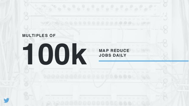 100k MAP REDUCE JOBS DAILY