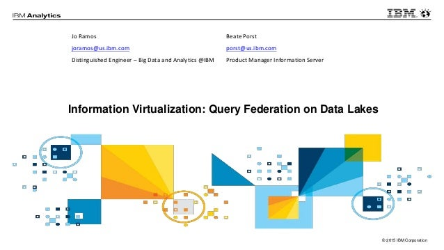 Information Virtualization: Query Federation on Data Lakes