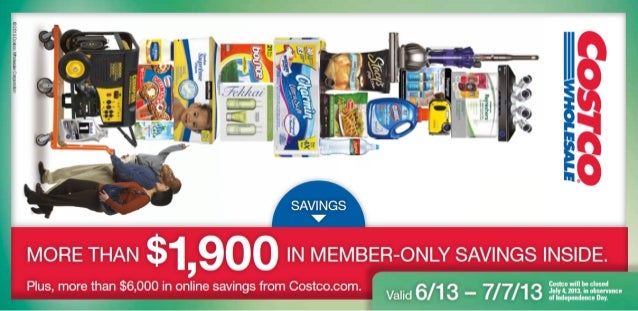 Instant 	 Valid June 13 – July 7, 2013Savings No Coupon Necessary★See inside cover for terms and conditions.Instant 	 Vali...