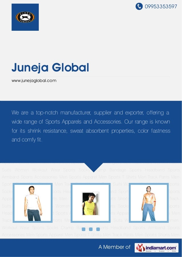 09953353597    Juneja Global    www.junejaglobal.comMen Sports Apparel Men Sports T Shirts Men Track Pants Men Sports Shor...