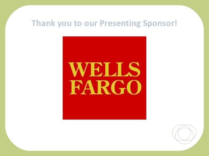 Thank you to our Presenting Sponsor!