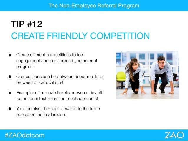 Introducing the NON Employee Referral Program