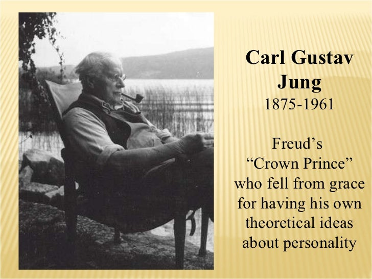 """Carl Gustav Jung 1875-1961 Freud's  """" Crown Prince"""" who fell from grace for having his own theoretical ideas about persona..."""