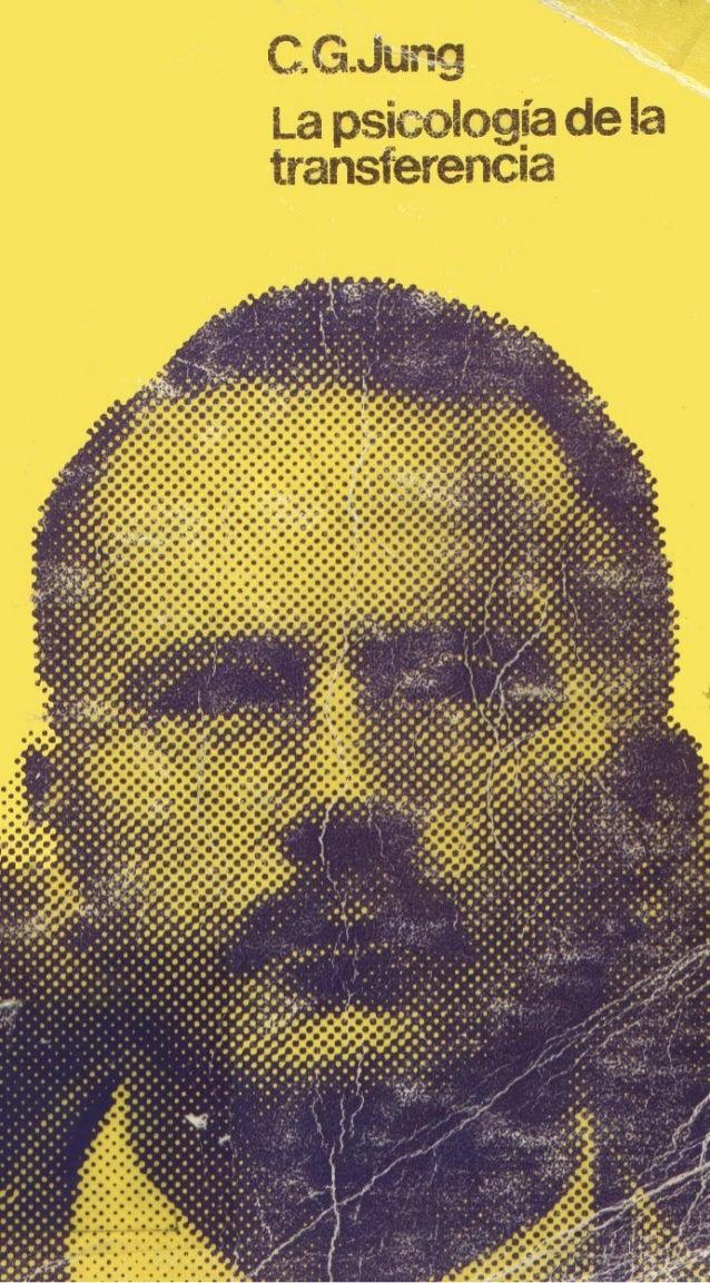 Jung carl   psicologia de la transferencia
