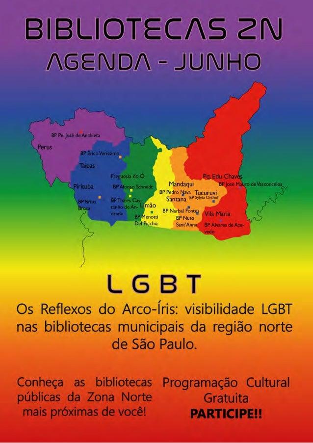 Os Reflexos do Arco-Íris: visibilidade LGBT nas bi- bliotecas municipais da região norte de São Paulo. Por Claudio Roberto...