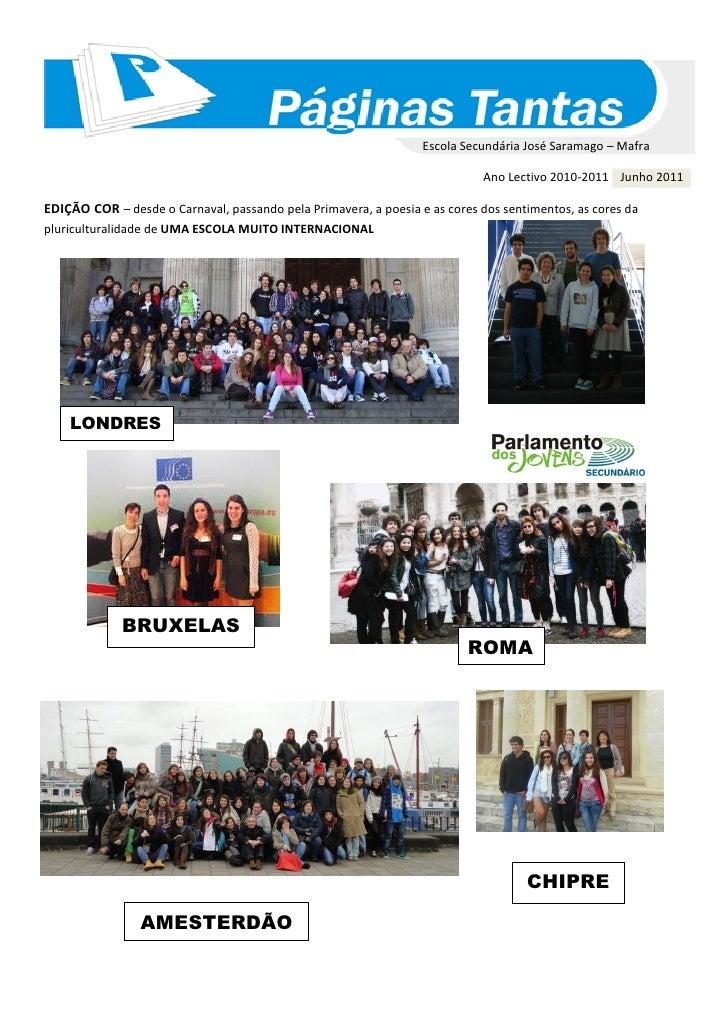 Escola Secundária José Saramago – Mafra                                                                            Ano Lec...