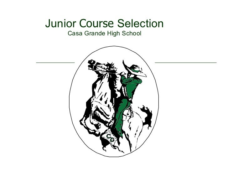 Junior Course Selection Power Point