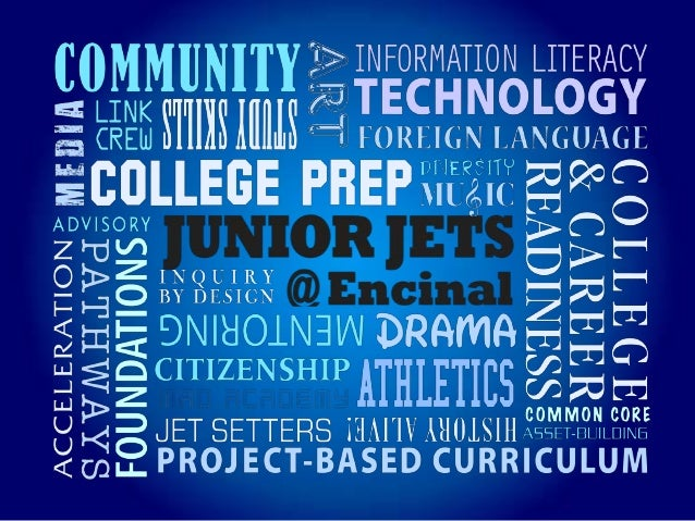 Junior Jets    Building early foundations for college and career readiness• Welcoming grades 6, 7, and 8• A small, communi...