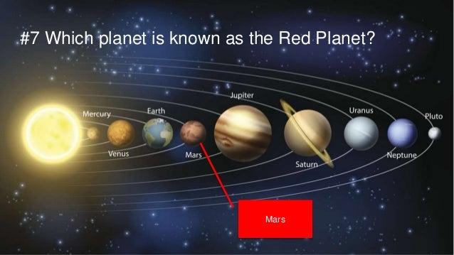 Junior solar system space quiz slideshare mar 2016