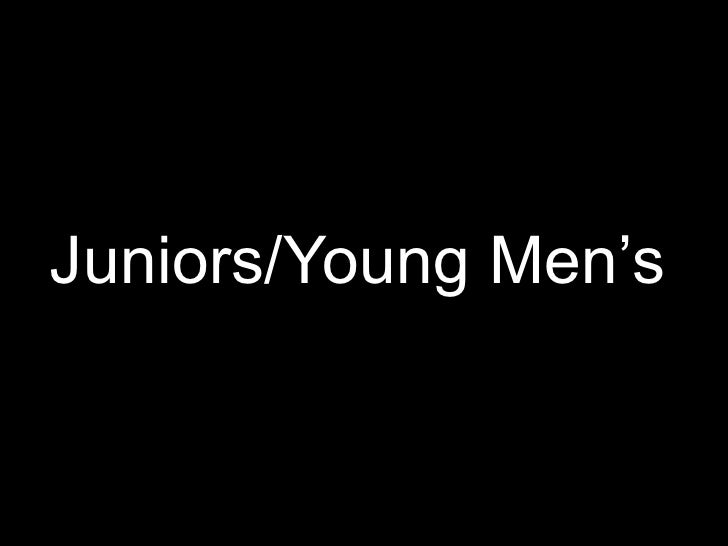 Juniors/Young Men's