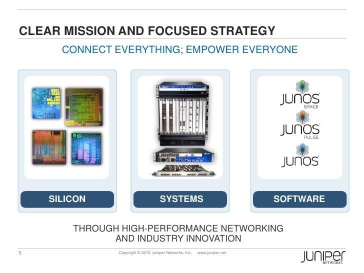 Juniper Networks Corporate Presentation