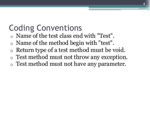 Testing with Junit4