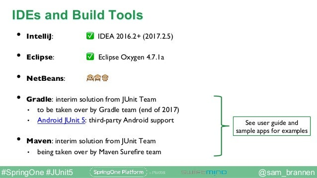 JUnit 5 — New Opportunities for Testing on the JVM